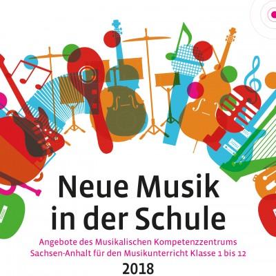 Deckblatt Neue Musik Broschüre 2018